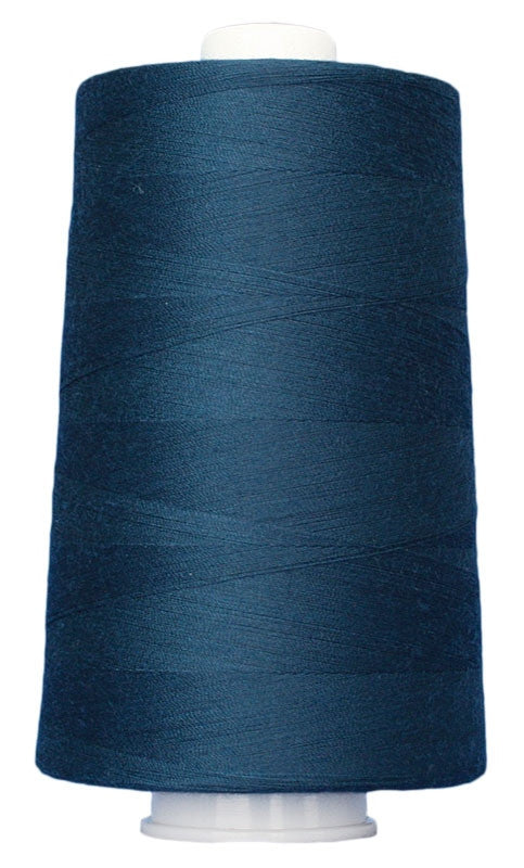 OMNI #3107 New England Blue 6000 yds Poly-wrapped poly core - TK Quilting & Design II