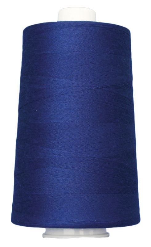 OMNI #3108 Royal Blue 6000 yds Poly-wrapped poly core - TK Quilting & Design