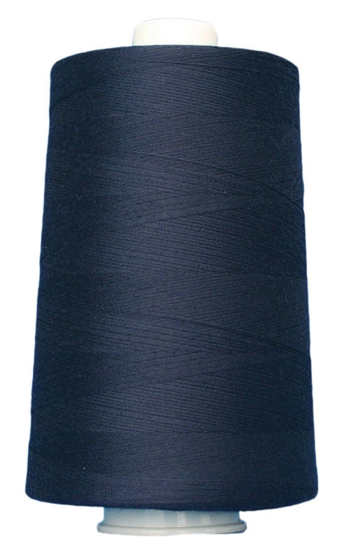 OMNI #3109 Navy Blue 6000 yds Poly-wrapped poly core - TK Quilting & Design