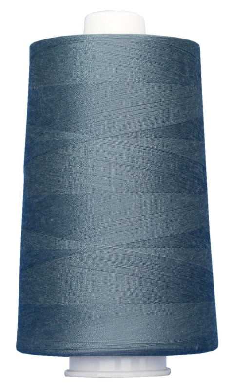 OMNI #3110 Steel Blue 6000 yds Poly-wrapped poly core - TK Quilting & Design