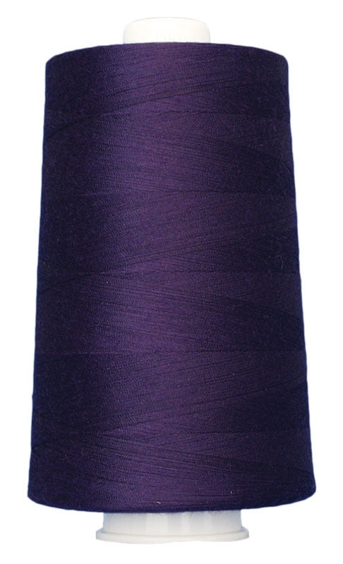 OMNI #3118 Byzantine Purple 6000 yds Poly-wrapped poly core - TK Quilting & Design