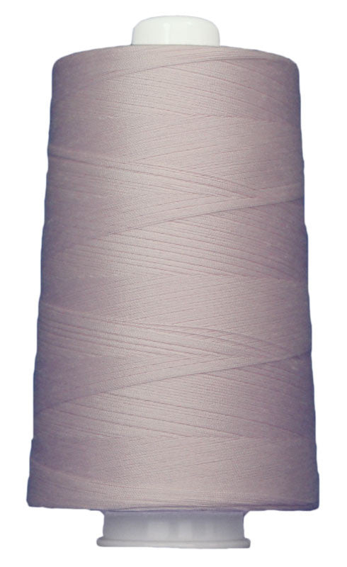 OMNI #3128 Light Pink 6000 yds Poly-wrapped poly core - TK Quilting & Design