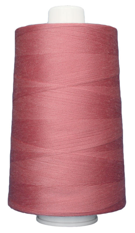 OMNI #3132 Rose Petal 6000 yds Poly-wrapped poly core - TK Quilting & Design