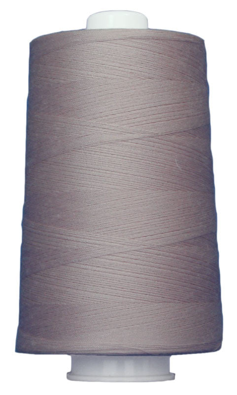 OMNI #3136 Light Mauve 6000 yds Poly-wrapped poly core - TK Quilting & Design