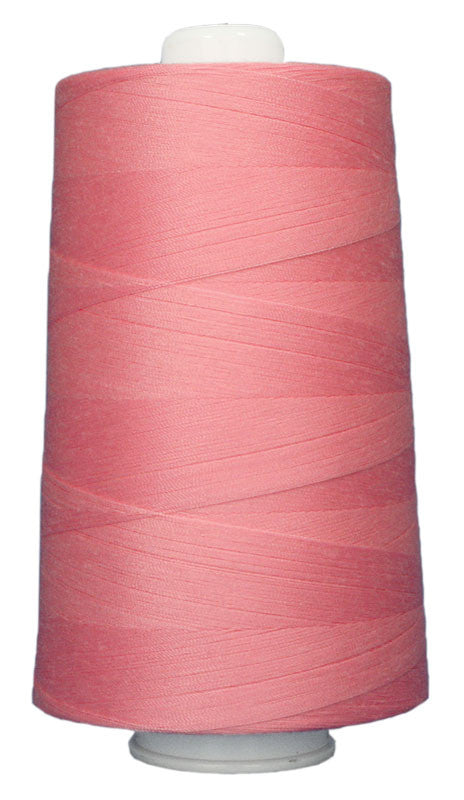 OMNI #3137 Candy Pink 6000 yds Poly-wrapped poly core - TK Quilting & Design