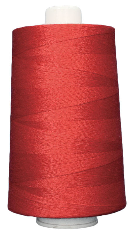OMNI #3139 Hot Lips 6000 yds Poly-wrapped poly core - TK Quilting & Design