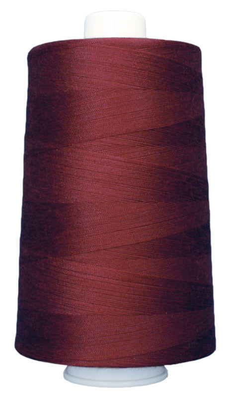 OMNI #3141 Deep Red 6000 yds Poly-wrapped poly core - TK Quilting & Design