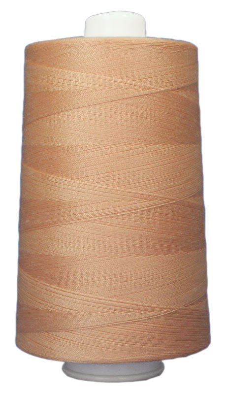 OMNI #3148 Bahama Sand 6000 yds Poly-wrapped poly core - TK Quilting & Design