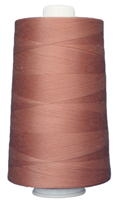 OMNI #3150 Western Pink 6000 yds Poly-wrapped poly core - TK Quilting & Design