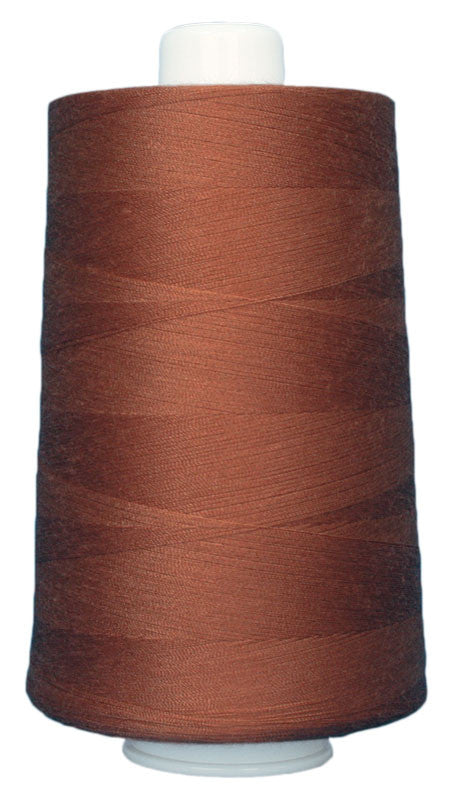 OMNI #3153 Sienna 6000 yds Poly-wrapped poly core - TK Quilting & Design
