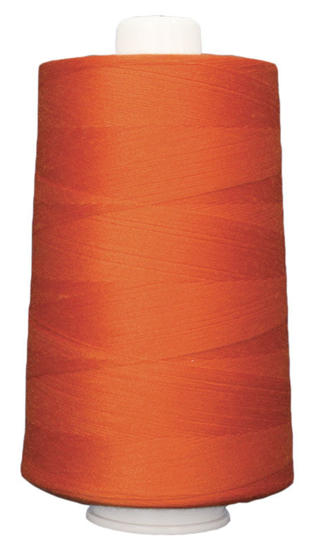OMNI #3154 Orange Peel 6000 yds Poly-wrapped poly core - TK Quilting & Design
