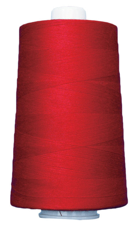 OMNI #3158 Neon Red 6000 yds Poly-wrapped poly core - TK Quilting & Design