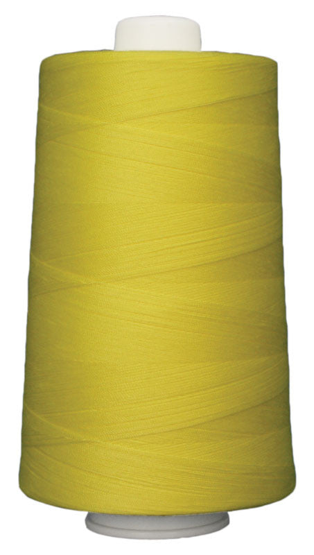 OMNI #3163 Mellow Yellow 6000 yds Poly-wrapped poly core - TK Quilting & Design