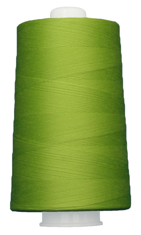 OMNI #3165 Bright Light Green 6000 yds Poly-wrapped poly core - TK Quilting & Design