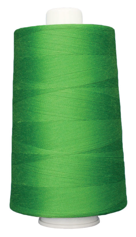 OMNI #3167 Bright Green 6000 yds Poly-wrapped poly core
