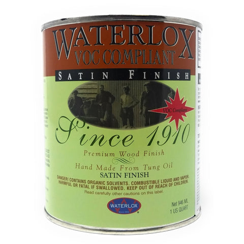 Waterlox Original Satin Finish, 350 VOC