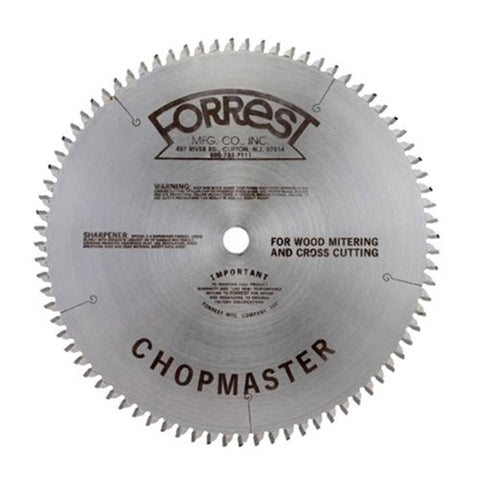 Forrest Chopmaster Miter and Radial Saw Blades