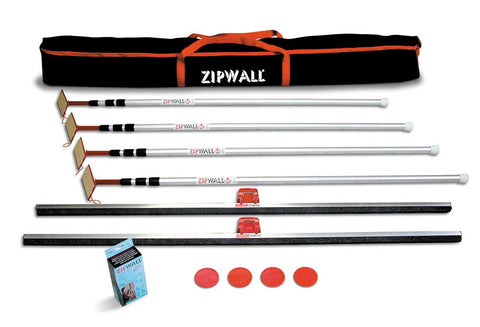 ZipWall 4PL Plus Kit with Carry Bag, 4-Pack