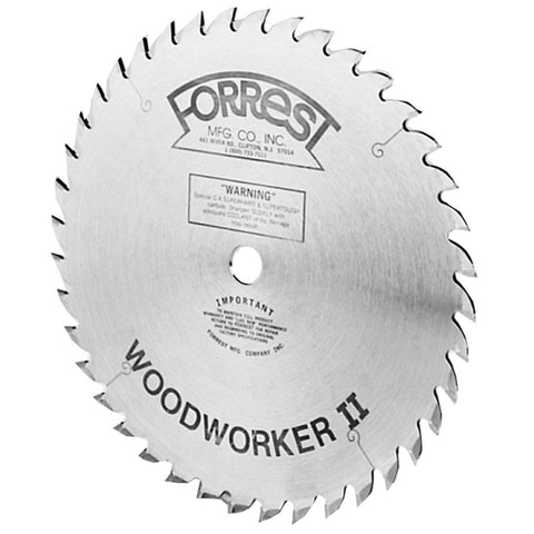 Forrest WW10407125 Woodworker II 10-Inch 40 Tooth  ATB 1/8-Inch Kerf Saw Blade with 5/8-Inch Arbor