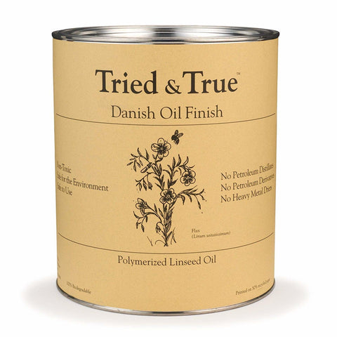 Tried and True Danish Oil