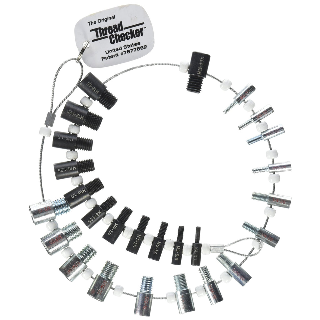 Buy Nut & Bolt Thread Checker (Inch & Metric) at Prime Tools for only $  32 95
