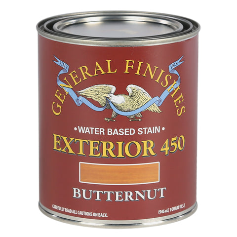 General Finishes Exterior 450 Water Based Wood Stain