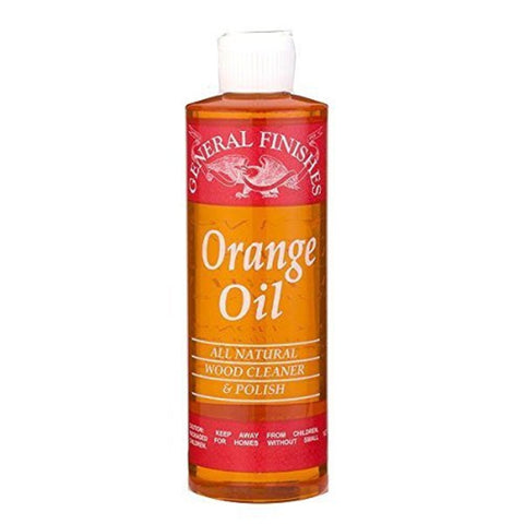 General Finishes Orange Oil Furniture Polish, 1 Pint