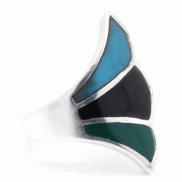 Pamlico Ring (Sterling Silver)  - VELVET HEAD