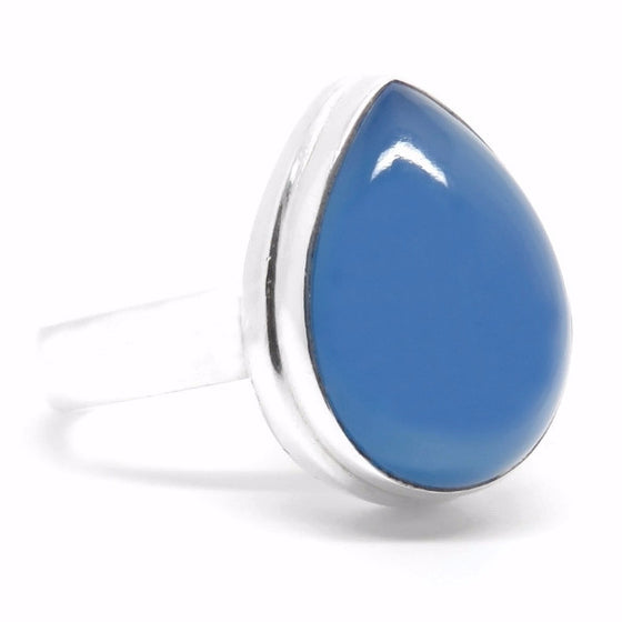 Indigo Bay Ring (Sterling Silver)  - VELVET HEAD