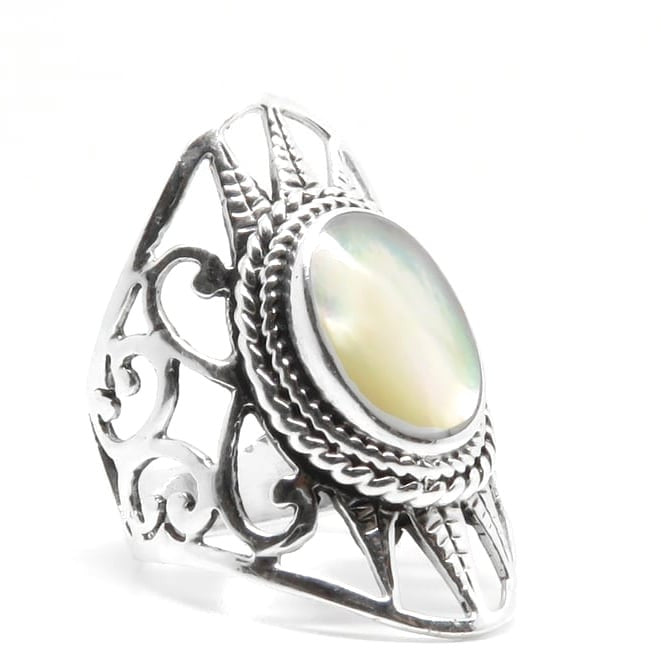 Eloga Ring (Sterling Silver)  - VELVET HEAD