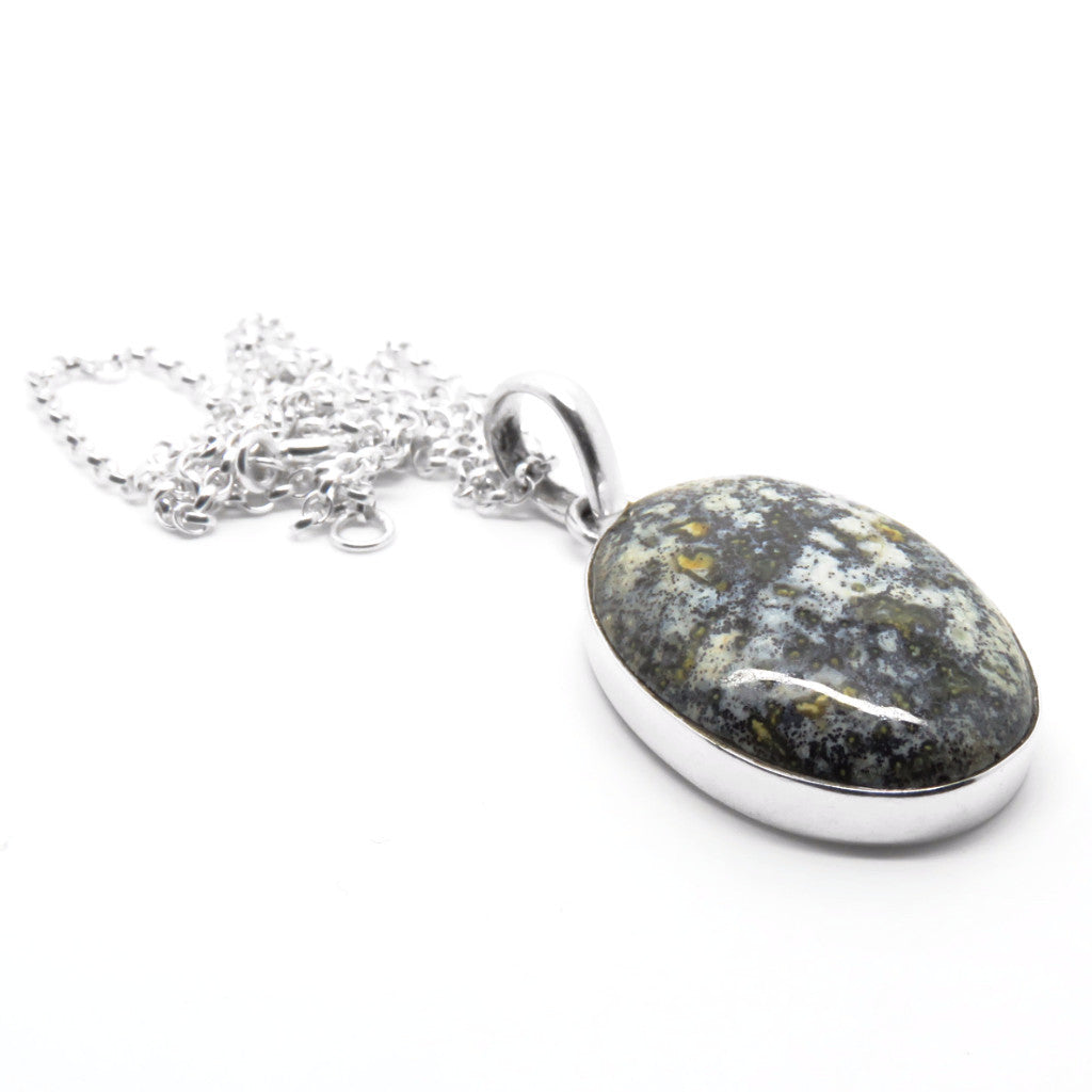 Balance Necklace (Sterling Silver)  - VELVET HEAD
