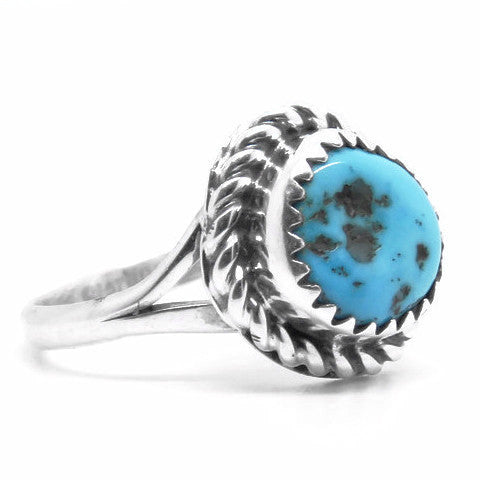 Indigena Ring (Sterling Silver)  - VELVET HEAD