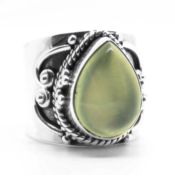 Laya Ring (Sterling Silver)  - VELVET HEAD
