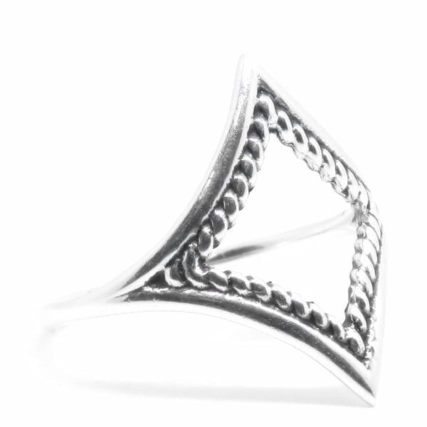 Messenger Ring (Sterling Silver)  - VELVET HEAD