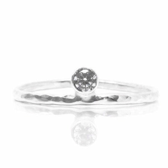 Radiance Ring (Sterling Silver)  - VELVET HEAD