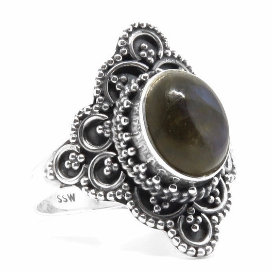 Henosis Ring (Sterling Silver)  - VELVET HEAD