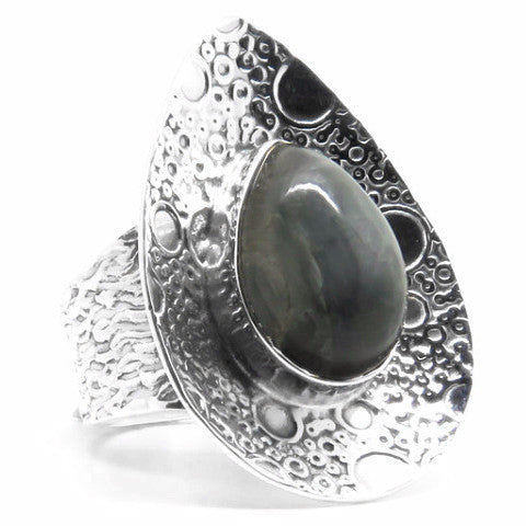 Mystic Creek Ring (Sterling Silver)  - VELVET HEAD