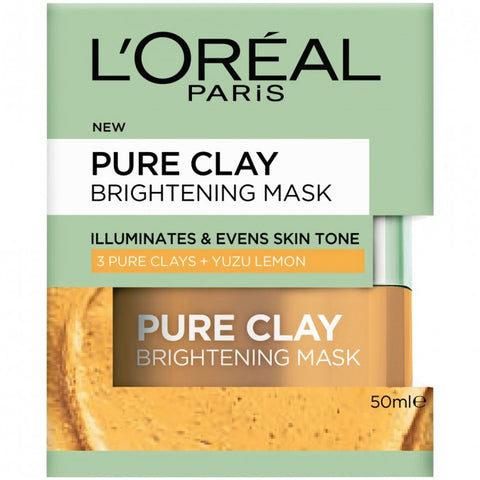 L'OREAL Clay Mask With Yuzu Lemon