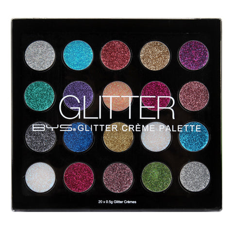 BYS Glitter Creme Eye Shadow Palette
