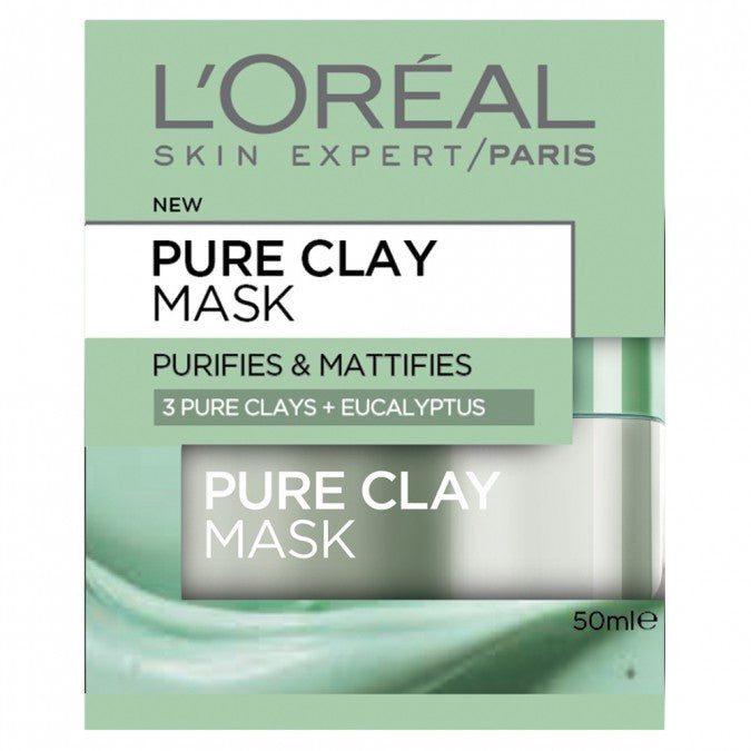 Clay Mask With Eucalyptus