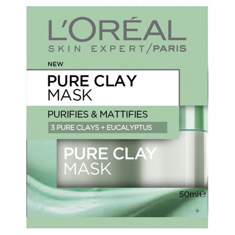 L'OREAL Clay Mask With Eucalyptus