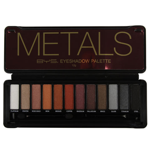 BYS Metals Eyeshadow Palette