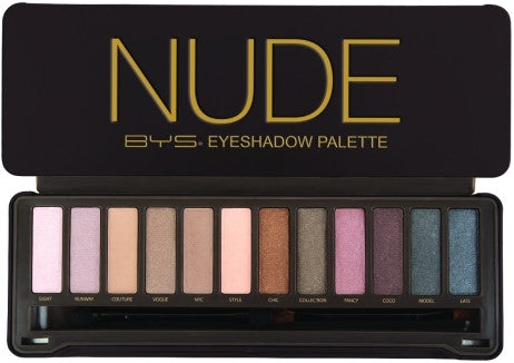 BYS Nude Eye Shadow Palette