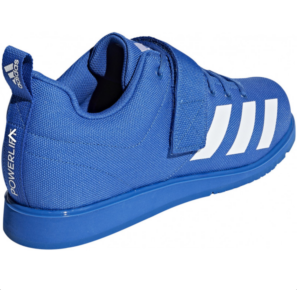 adidas Powerlift 4.0 Mens Weightlifting Shoes - Blue - BC0345