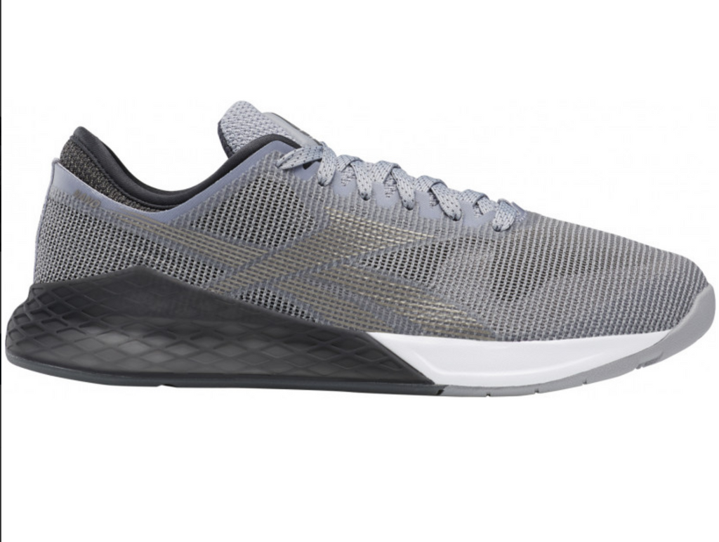 !! Reebok Crossfit Nano 9.0 Mens Training Shoes - Grey -FU6827