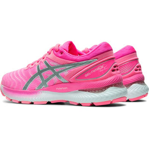 Asics Gel Nimbus 22 Womens Running Shoes - Pink 1012A587 701