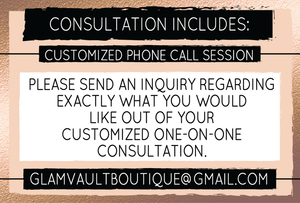 One-On-One Customized Consultation
