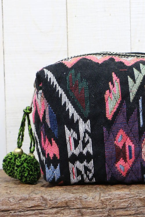 Navajo Inspired Jacquard Makeup Bag