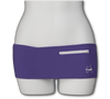 Violet Fanny Pack (White Zipper)