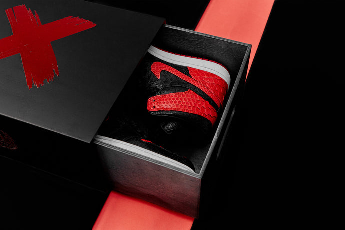 "The Remade X INXX - Jordan 1 Python ""Banned"" Release"
